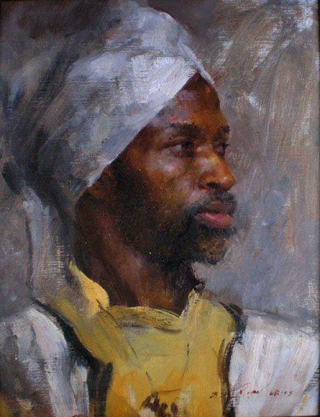 Mary Qian Art Work: Portraits: Part A