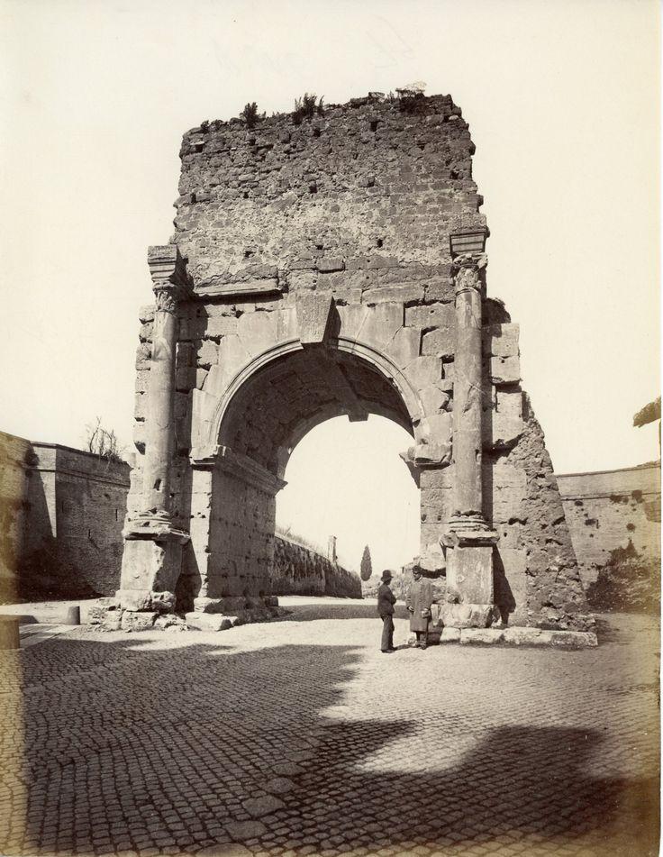 Arco di Druso: Circa 1875