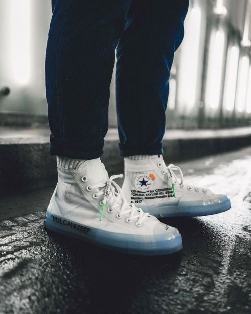 2d7ea0bd2fe816 Converse by Off-White. 1 of 10 in the limited series.  Vulcanized ...