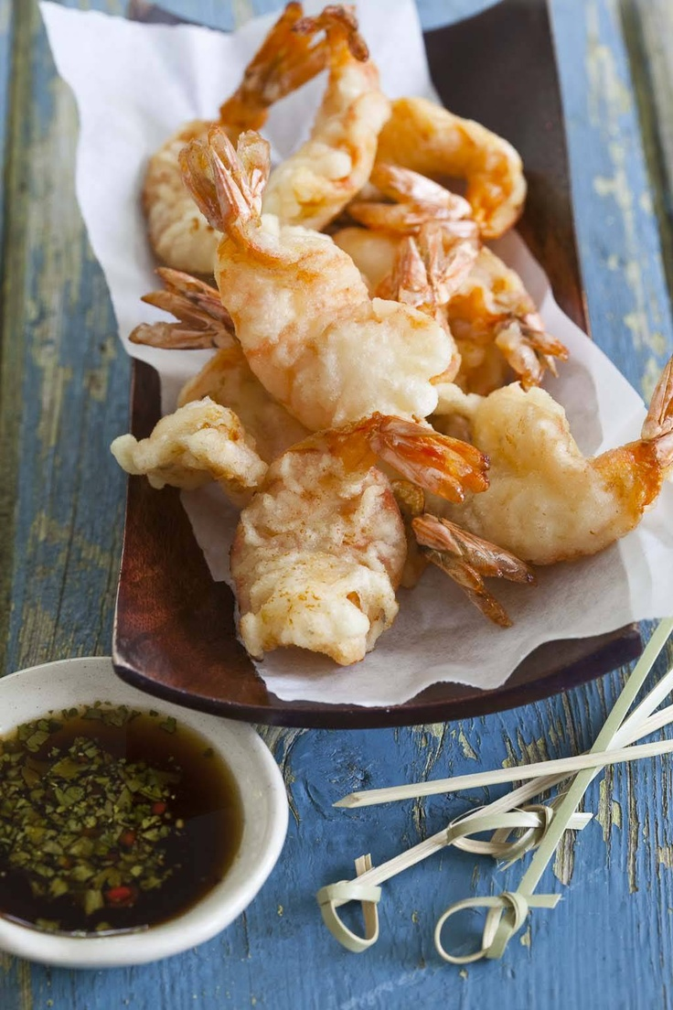 prawn-tempura-with-honey-and-lime-dipping-sauce - Nomu