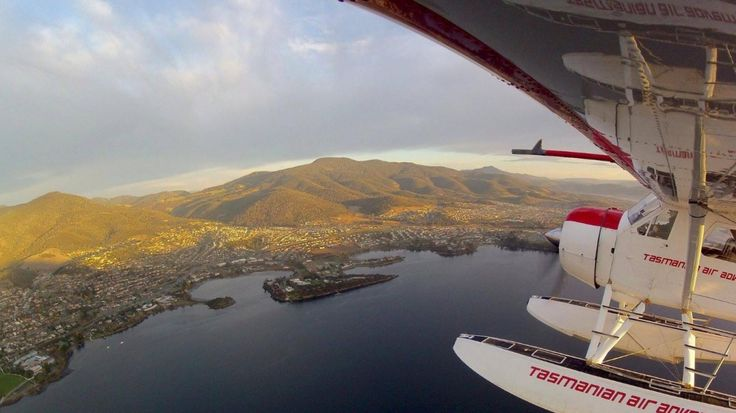 Hobart, Tasmania. Photo by Tasmanian Air Adventures.