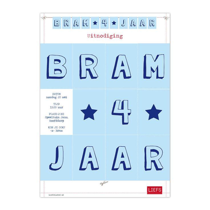 Bram 4 jaar ♡ Feestje ♡ Thema Do ♡ Maak ook je eigen minislinger! www.LiefsLabel.nl
