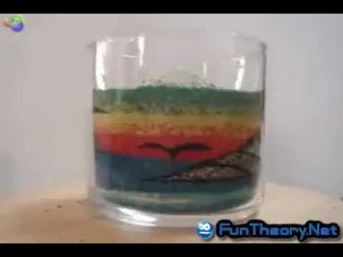 Trik Lukisan Pasir Dalam Gelas Atau Botol
