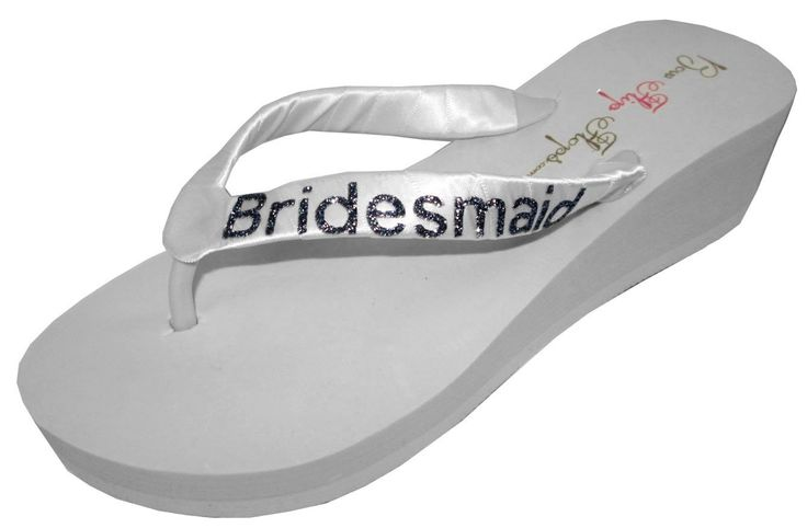 18 Best Bridal Flip Flops On Amazon Images On Pinterest -6502