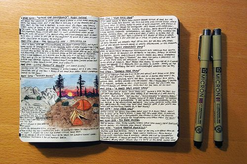 I wish I could learn how to draw it would make my journals much kore beautiful... Like this one.