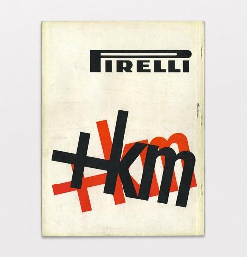 Pirelli Piu Chilometri, 1959 - Alan Fletcher