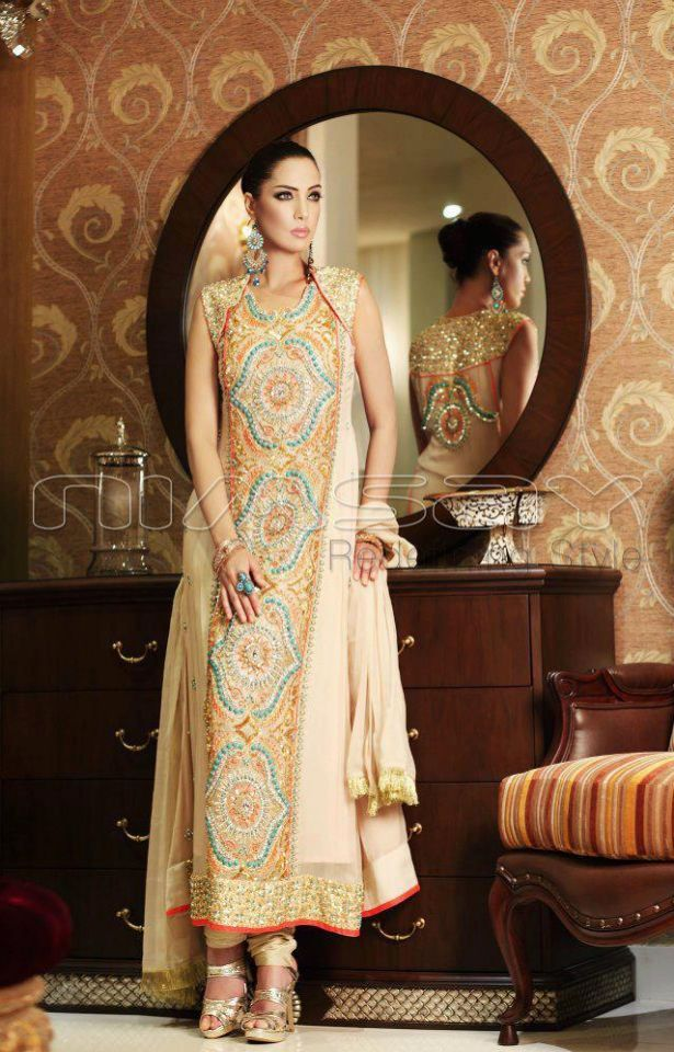 Stylish Straight Salwar Suit Indian Pakistani Dresses