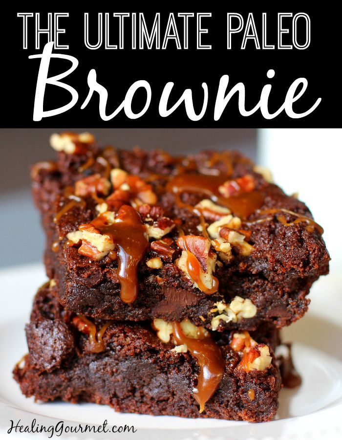 The Ultimate Paleo Brownie
