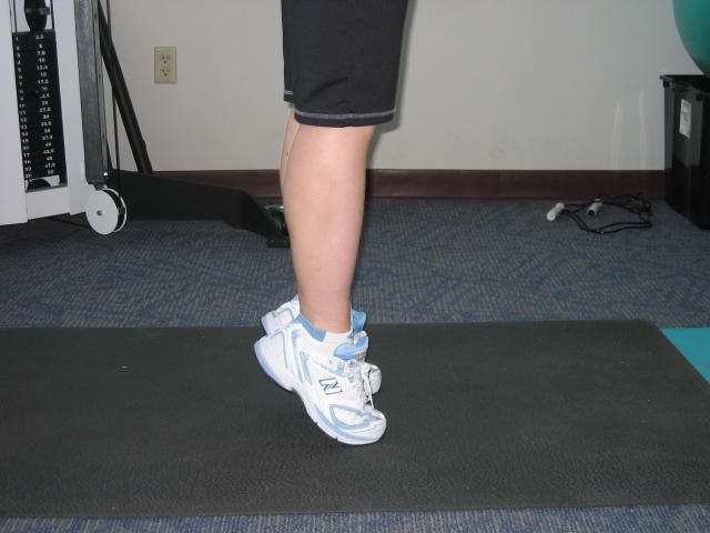 Want to Prevent Shin Splints? Try Doing Wall Toe Raises: Toe Walking - Stretching and Strengthening