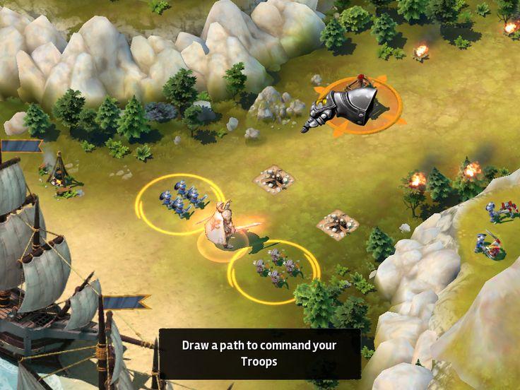 Siegefall | Combat Tutorial | UI HUD User Interface Game Art GUI iOS Apps Games | Gameloft | www.girlvsgui.com