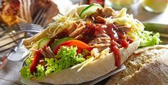Rezept: Pulled Pork Sandwich mit Krautsalat (Coleslaw)