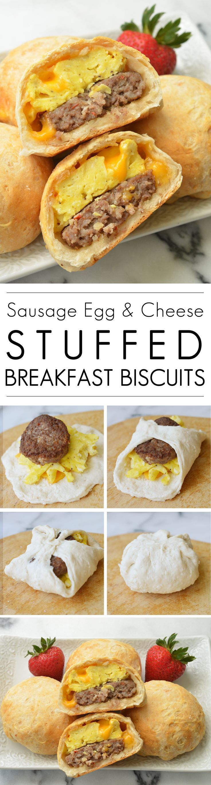 Sausage Egg & Cheese Stuffed Breakfast Biscuits (scheduled via http://www.tailwindapp.com?utm_source=pinterest&utm_medium=twpin&utm_content=post170524507&utm_campaign=scheduler_attribution)