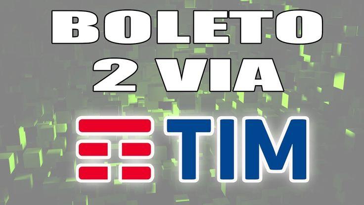 2 VIA BOLETO TIM - Tim Móvel