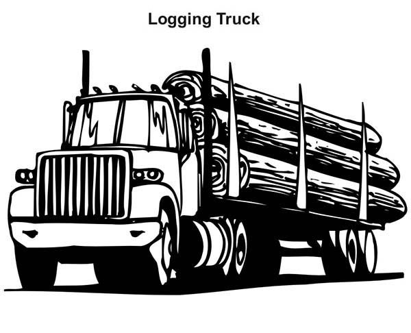 17 Best images about dessin truck on Pinterest | Coloring ...