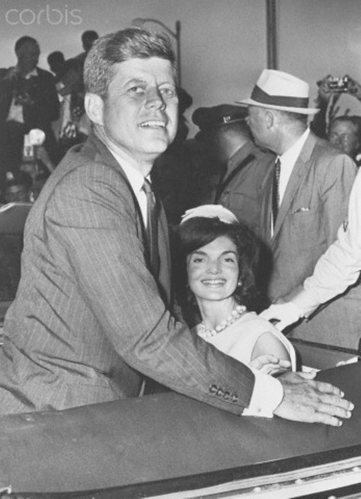 Senator John F. Kennedy and Jacqueline Kennedy Presidential candidate John F. Kennedy sits with wife Jackie in a car at Hyannis Airport on July 17, 1960. | Location: Hyannis Airport, Hyannis, Massachusetts, USA.  Date Photographed:July 17, 1960    http://en.wikipedia.org/wiki/Hyannis,_Massachusetts  ❤❤❤❤