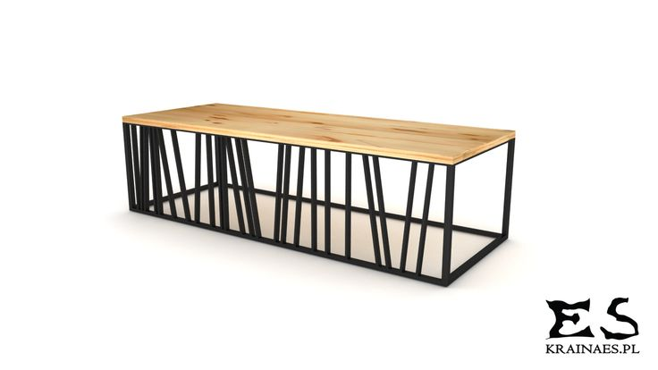 Coffee table, iron, steel, wood, stolik kawowy, metal, drewno, Davis table, Kraina ES #coffeetable, #smalltable, #woodtable, #metaltable, #irontable, #minimalism, #table, #designstyle, #minimal, #krainaes, #handcraft, #craft, #stolik, #stolikkawowy, #minimalizm, #minimal, #ręczniewykonany