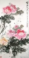 Resultado de imagem para chinese brush painting flowers