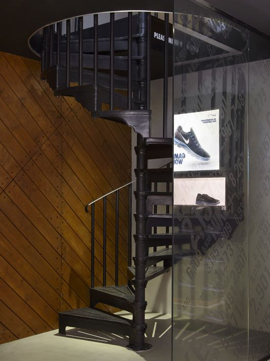 A Modern Art Deco Spiral Staircase From British Spirals U0026 Castings Are A  Popular Alternative To