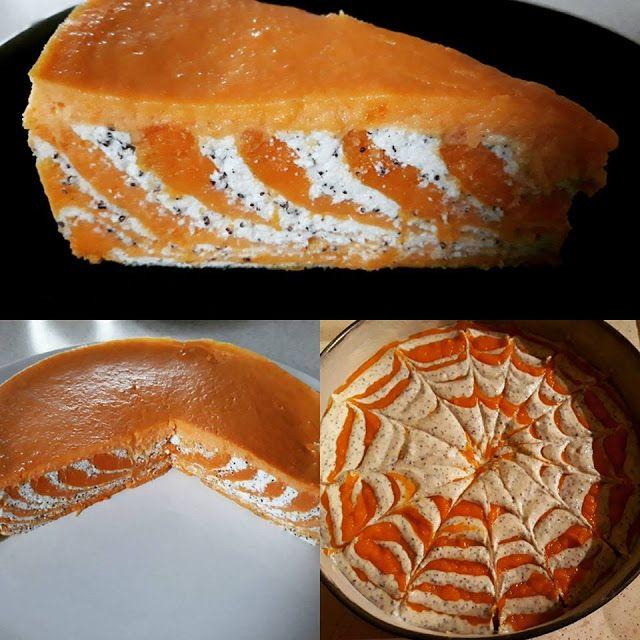 A sütőtök hatalmas kedvencünk, ezért a süteményekhez is felhasználjuk. Eddig csak egyszerű pitéket készítettem belőle, de mióta ...