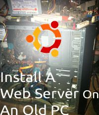 how to build a linux server from an old pc