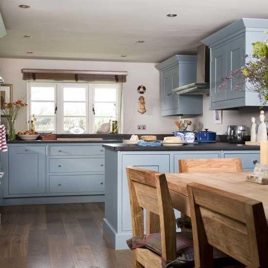 Blue Cottage Kitchen Cabinets: 17 Best Ideas About Blue Country Kitchen On Pinterest
