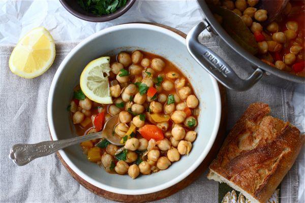 harissa chickpea stewAdorable Harissa, Stew Harissa, Chickpeas Soup, Lentils Soup, Harissa Chickpeas, Chickpeas Stew, Nom Nom, Cleaning Eating, Drinks Tastyfoodpicsblo