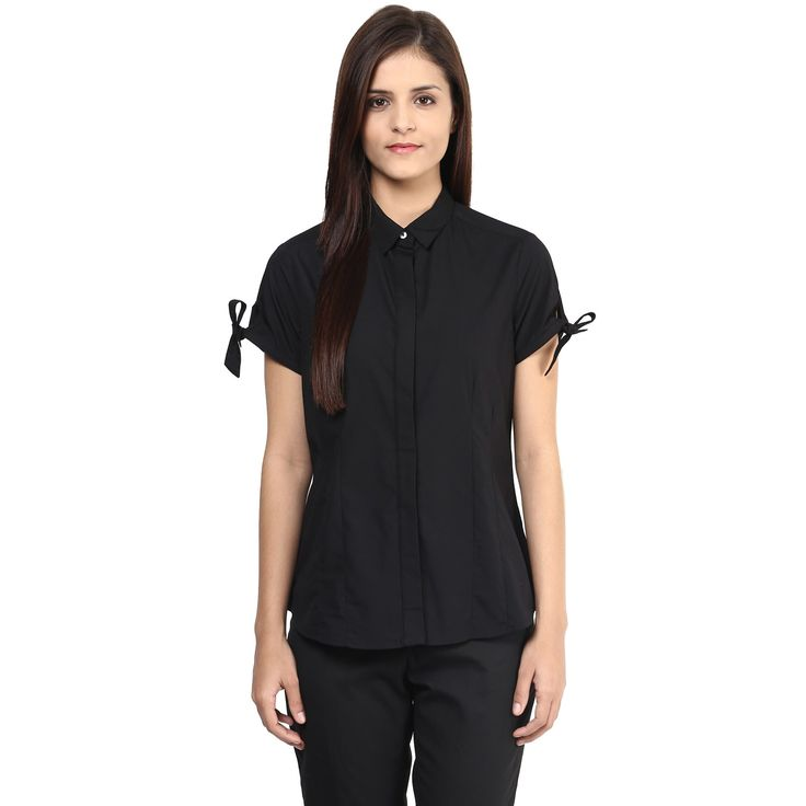 Half sleeve shirts are the staple office wear shirts, which also enhance the overall personality.
