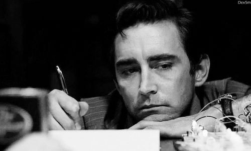 Lee Pace as Joe McMillan in Halt and Catch Fire episode one: I/O
