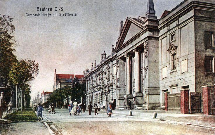 ul. Gimnazjalna i Teatr Miejski