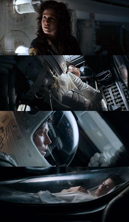 Alien, 1979 (dir. Ridley Scott) Cinematography: Derek Vanlint