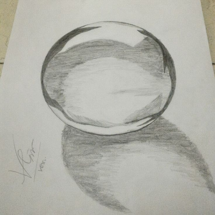 Crystall ball #crystallball #sketch #freedrawing
