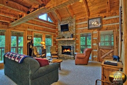 1000 Ideas About Mountain Cabins On Pinterest Log Cabin