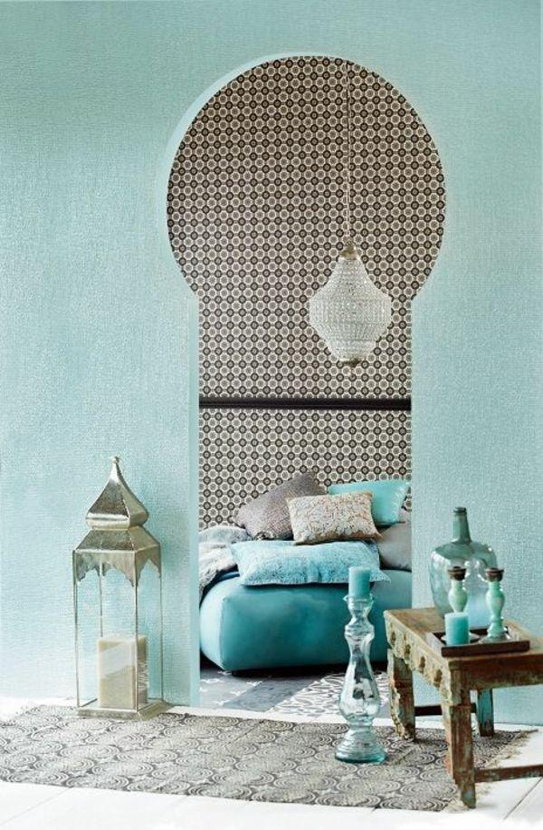 Mer enn 25 bra ideer om Türkis Farbe på Pinterest Wandfarbe mint - wohnzimmer grau türkis