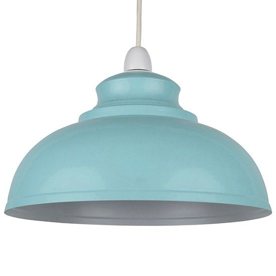 Galley metal pendant from Dunelm Mill | Industrial chic design ideas | Design | PHOTO GALLERY | housetohome.co.uk