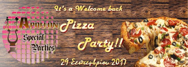 Apollon dance studio: Η Διασκέδαση μας ξεκινά με... Welcome Back Pizza P...
