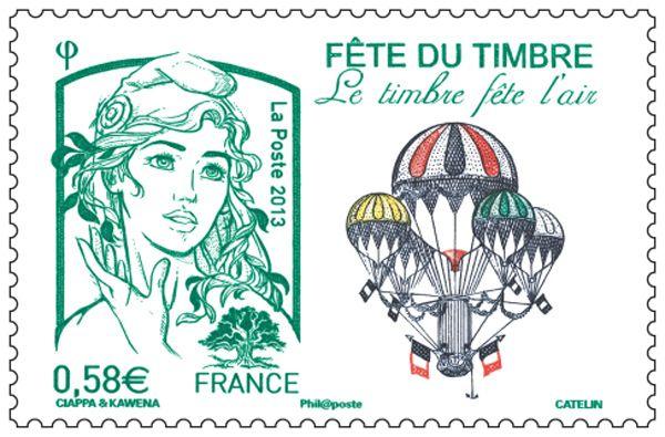 La Boutique web du Timbre - Timbre Marianne et la jeunesse Lettre Verte 20g - Fête du timbre 2013