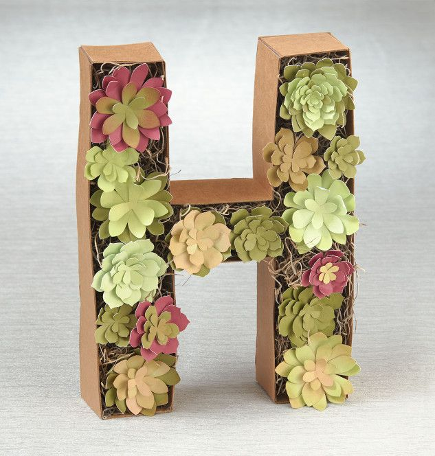 Project: Paper succulents #ctmh #closetomyheart #succulents #diyhomedecor…