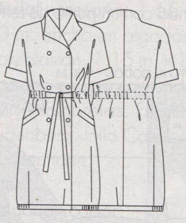 Модели женского пальто с рукавами рубашечного покроя