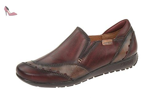Pikolinos Chaussures Femme–Confortable Pantoufles Lisboa - rouge - Rot, 38 EU - Chaussures pikolinos (*Partner-Link)