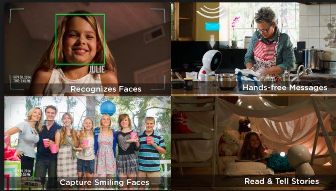 Family Robot Jibo: 현재 Pre-order 중인 제품. 가정용 로봇인데, 스마트폰의 기능을 좀 더 자동화하고 인터랙션 방식을 개선하여 UX를 높였다. 무엇보다 로봇치고 가격이 저렴한 점($499)도 장점. 2016년 출시. 관련 동영상. http://www.youtube.com/watch?v=3N1Q8oFpX1Y http://www.myjibo.com