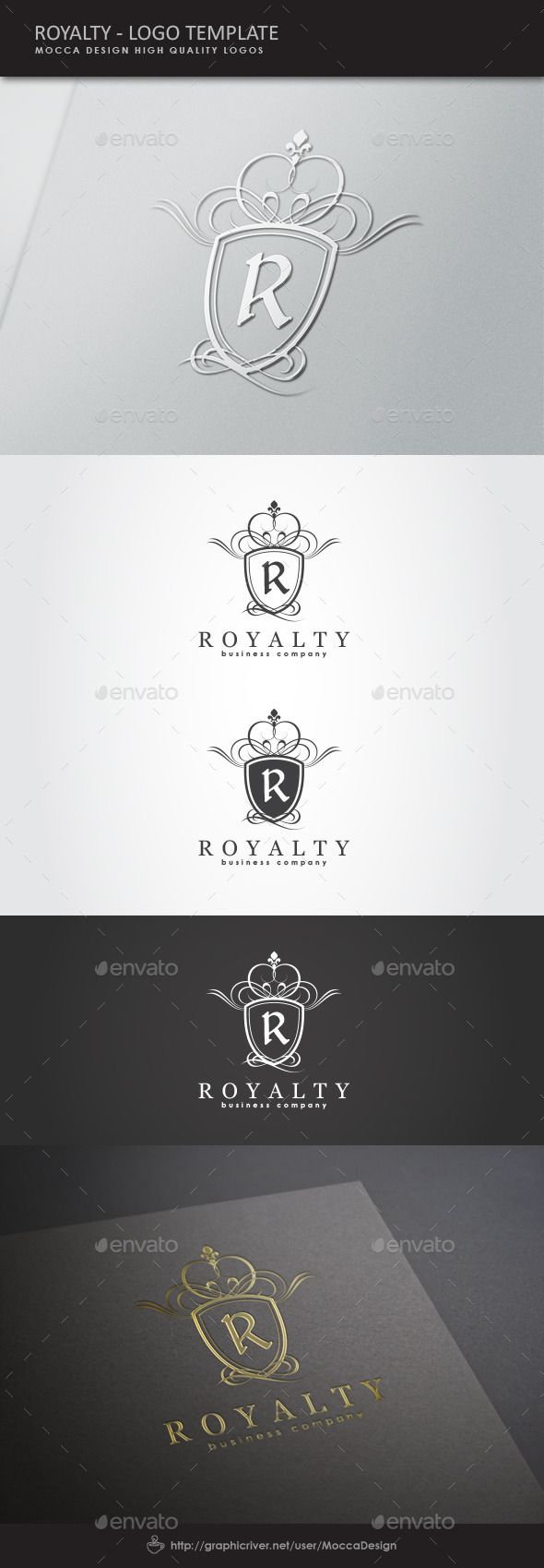 Royalty Logo Template Crests Logo Template Vector EPS, Vector AI. Download here: http://graphicriver.net/item/royalty-logo/1574491?s_rank=50&ref=yinkira