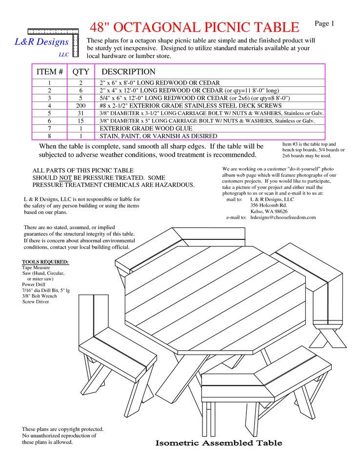 Amazing 25+ Unique Picnic Table Plans Ideas On Pinterest | Folding Picnic Table  Plans, Picnic Tables And Outdoor Picnic Tables