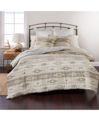 Closeout! Martha Stewart Collection Solid Queen Cotton Flannel Sheet Set, Only at Macy's - Red