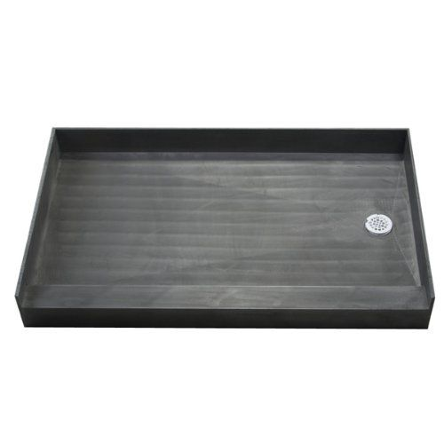 """Tile Redi Single Threshold Tile Redi Shower Base 4260RBOBO-PO: 60""""W x 42""""L x 7""""D by Tile Ready. $617.00. Tile Redi is the inventor of Tile Ready shower products. Tile Redi is both the industry innovator and industry leader of the Tile Ready shower base, and has the industries largest selection of Tile Ready shower pans, including single curb shower bases, bathtub replacement shower pans, and ADA and barrier free shower pans. Our Tile Ready shower pans are one piece shower ..."""
