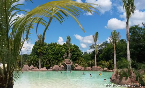 Mabu Thermas Grand Resort – Foz do Iguaçu - praia termal