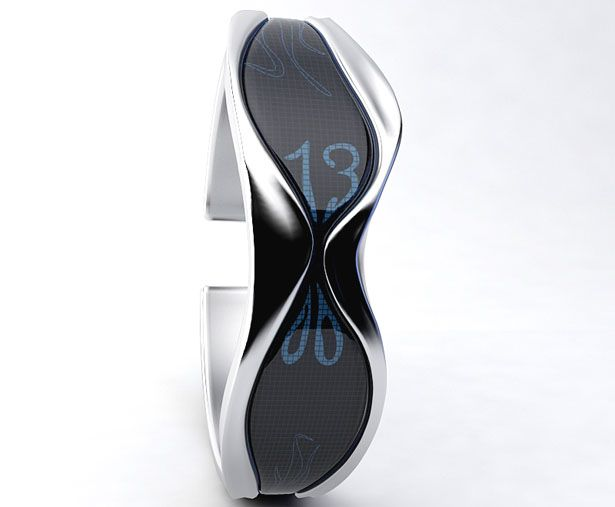 Creative Watches and Unusual Watch Designs - Liquid Time Watch: Its inspired by an hourglass.