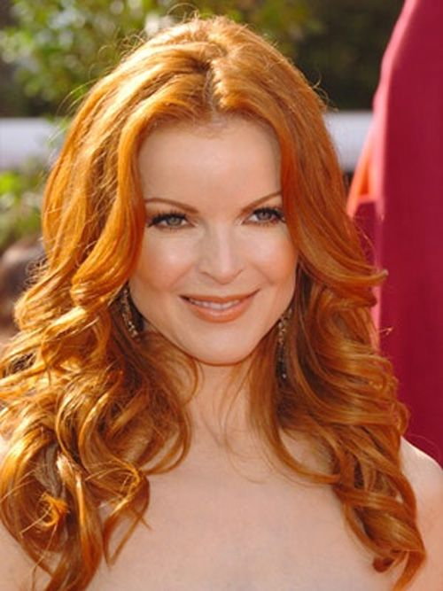 Or keep my style/length, trim it up and go RED!