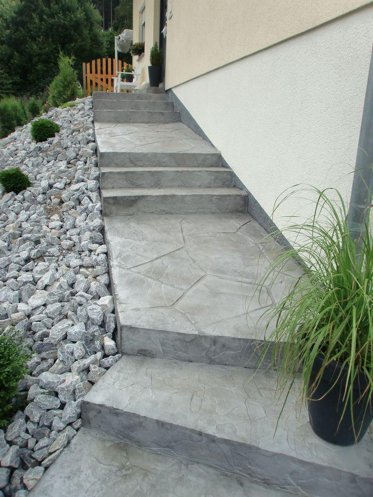 die besten 25 terrassen treppe ideen auf pinterest. Black Bedroom Furniture Sets. Home Design Ideas