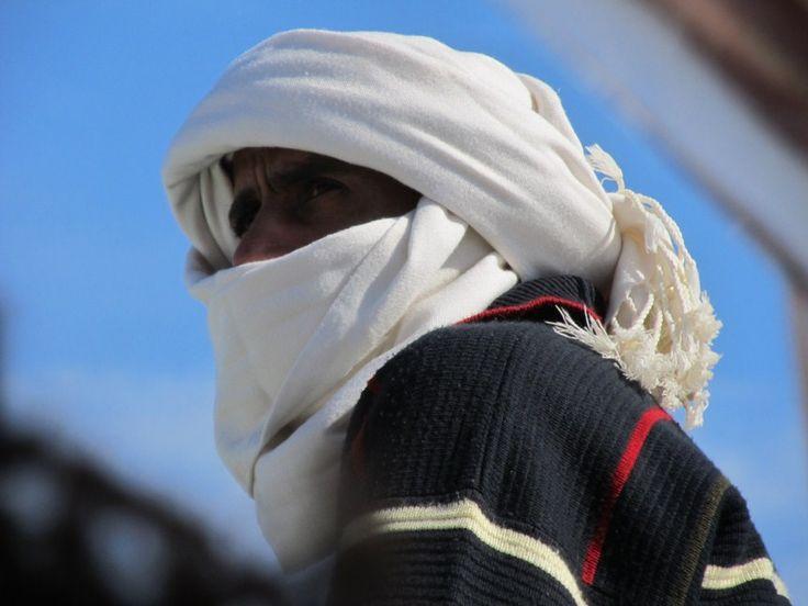 Nubian man from Wadi to Aswan