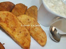 Si ayer publiqué la receta de la Salsa deluxe , la entrada de hoy no podía ser otra que la de las patatas de luxe al estilo Mc Donals...